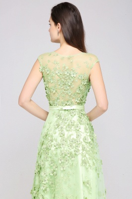 Grüne Abendkleider Lang | Abiballkleider Spitze Günstig_7