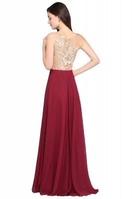 Rote Abendkleider mit Spitze | Abiballkleider Lang Günstig_3
