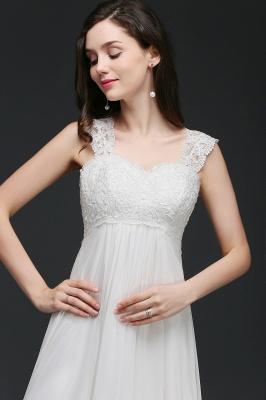 Schlichtes Brautkleid | Chiffon Hochzeitskleider Günstig Online_7