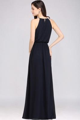 Schlichte Damenmoden   Chiffon Kleider Abendkleider Lang_12