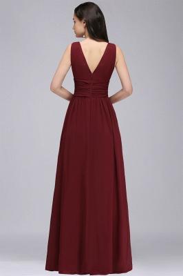 Designer Abiballkleider Günstig | Abendkleid Lang V Ausschnitt_2