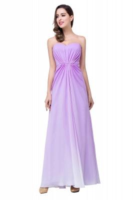 Lavender Abendkleider Lang Günstig   Schlichtes Abiballkleid_9
