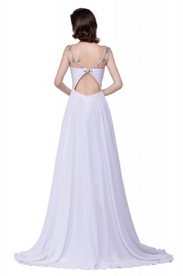 Weiße Abendkleider Lang Günstig | Abiballkleider Online_6