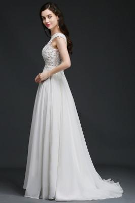 Schlichtes Brautkleid Günstig | Hochzeitskleider A Linie_6