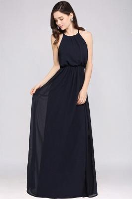 Schlichte Damenmoden   Chiffon Kleider Abendkleider Lang_13