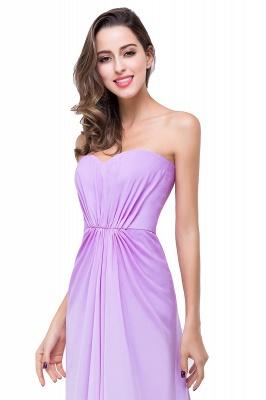 Lavender Abendkleider Lang Günstig   Schlichtes Abiballkleid_5