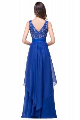 Schlichtes Abendkleid Blau | Abendkleider Lang Günstig_6