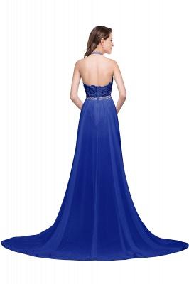 König Blaue Abendkleider Lang Günstig | Abiballkleider Mit Spitze_7