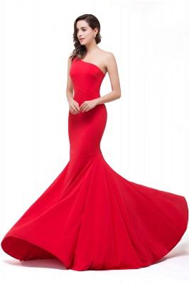 Abendkleid Lang Rot   Schlichtes Abiballkleid Günstig_8