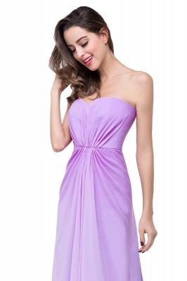 Lavender Abendkleider Lang Günstig   Schlichtes Abiballkleid_10