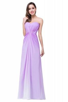 Lavender Abendkleider Lang Günstig   Schlichtes Abiballkleid_2