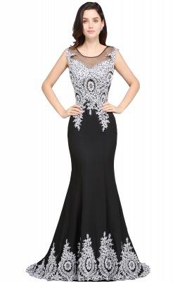 Abendkleid Lang Weiß Schwarz | Abiballkleider Günstig