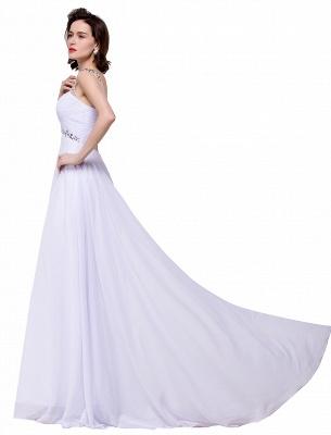 Weiße Abendkleider Lang Günstig | Abiballkleider Online_10