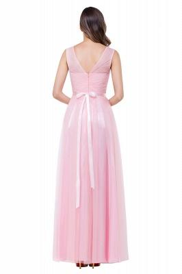 Designer Abenbdkleider Rosa | Schlichtes Abiballkleid Günstig_5