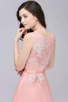 Rosa Abendkleider Lang Günstig | Abendmoden Online_9