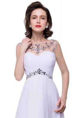 Weiße Abendkleider Lang Günstig | Abiballkleider Online_9