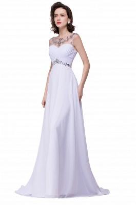 Weiße Abendkleider Lang Günstig | Abiballkleider Online_8