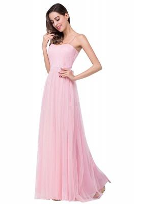 Schlichtes Abiballkleid | Abendkleider Lang Rosa_8