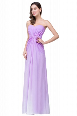Lavender Abendkleider Lang Günstig   Schlichtes Abiballkleid_4