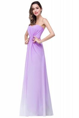 Lavender Abendkleider Lang Günstig   Schlichtes Abiballkleid_6