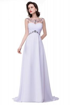 Weiße Abendkleider Lang Günstig | Abiballkleider Online_7