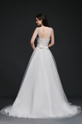 Schlichtes Brautkleid Online | Hochzeitskleid A Linie_4