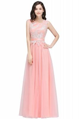 Rosa Abendkleider Lang Günstig | Abendmoden Online_1