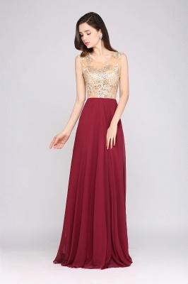 Rote Abendkleider mit Spitze | Abiballkleider Lang Günstig_4