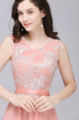 Rosa Abendkleider Lang Günstig | Abendmoden Online_8