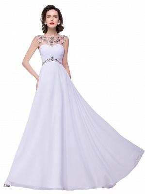 Weiße Abendkleider Lang Günstig | Abiballkleider Online_11