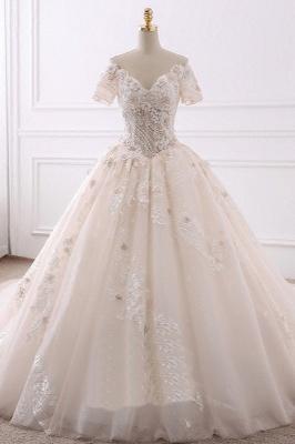 Schöne Brautkleider Mit Ärmel | Hochzeitskleider Prinzessin