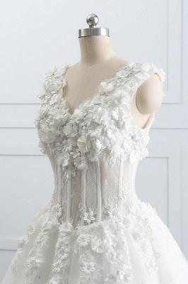 Brautkleider A Linie Spitze | Tüll Hochzeitskleider Online_6