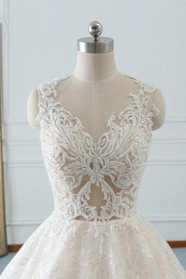 Modern Brautkleider A Linie | Hochzeitskleider Spitze_5