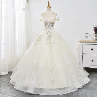 Designer Hochzeitskleider A Linie | Brautkleid mit spitze_7