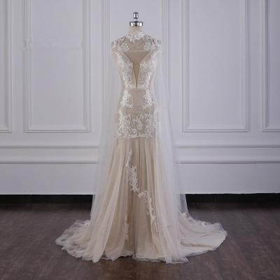 Außergewöhnliche Hochzeitskleider | Brautkleider Meerjungfrau Spitze_7