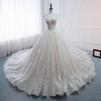 Standesamt Hochzeitskleid | Brautkleider Prinzessin Luxus_7