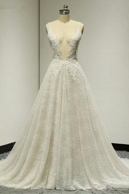 Brautkleider A Linie Spitze   Hochzeitskleid Bestellen_1