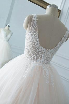 Schöne Brautkleider v Ausschnitt | Hochzeitskleid Umstandsmode_5