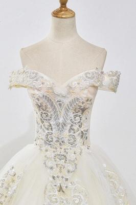 Designer Hochzeitskleider A Linie | Brautkleid mit spitze_5