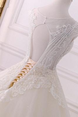 Champagne Brautkleider Prinzessin | Bohemian Hochzeitskleid_4