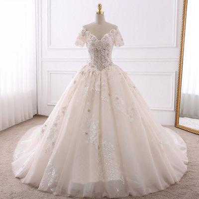 Schöne Brautkleider Mit Ärmel | Hochzeitskleider Prinzessin_6