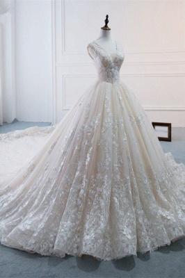 Standesamt Hochzeitskleid | Brautkleider Prinzessin Luxus_3
