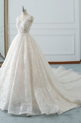 Modern Brautkleider A Linie | Hochzeitskleider Spitze_3