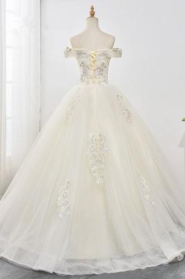 Designer Hochzeitskleider A Linie | Brautkleid mit spitze_2