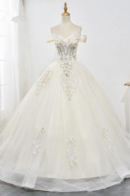 Designer Hochzeitskleider A Linie | Brautkleid mit spitze_1