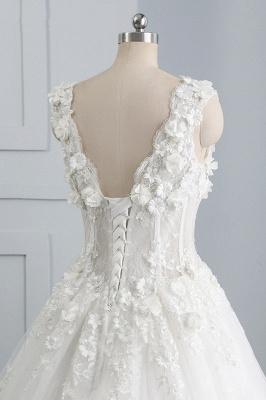 Brautkleider A Linie Spitze | Tüll Hochzeitskleider Online_7