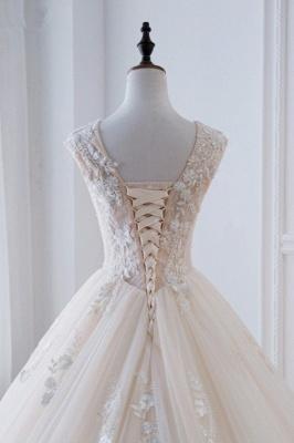Standesamt Hochzeitskleid | Brautkleider Prinzessin Luxus_6