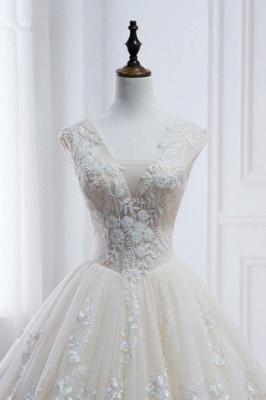Standesamt Hochzeitskleid | Brautkleider Prinzessin Luxus_4