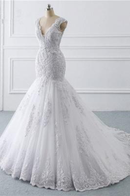 Schlichte hochzeitskleider Meerjungfrau   Brautkleider Spitze_3