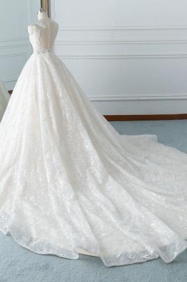 Modern Brautkleider A Linie | Hochzeitskleider Spitze_4